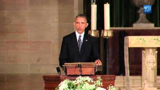 Obama Eulogizes Beau Biden - Full Speech