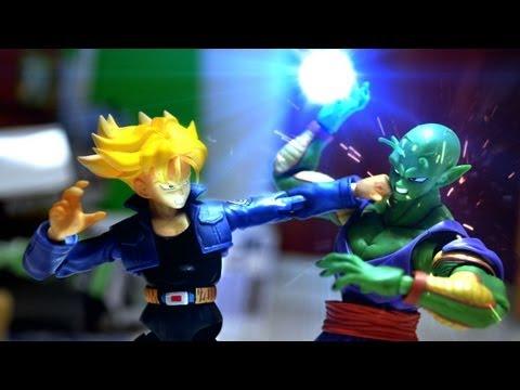 Dragon ball Z Stop Motion Piccolo VS Trunks 七龍珠 比克VS特南克斯