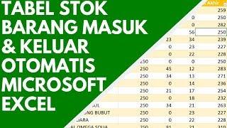 MEMBUAT LAPORAN STOK BARANG MASUK & KELUAR OTOMATIS DI MICROSOFT EXCEL - TEACH ID