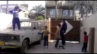 احلى رقص عراقي تقليد رقصة هارلم شيك
