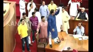 Mayhem Over Chit Fund Scam in Odisha Assembly
