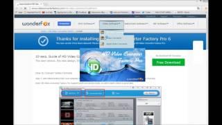 HD Video Converter Factory Pro Installation