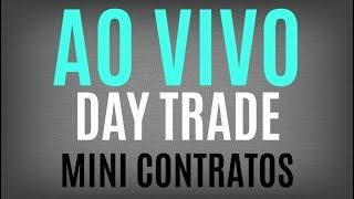 Day Trade ao vivo Mini Índice e Mini Dólar com Jota - 21-03-2018