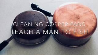 VIDEO Easy Clean Your Copper Pots & Pans