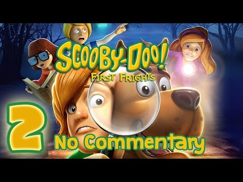 Scooby Doo First Frights Walkthrough Part 2 Wii PS2 No Commentary