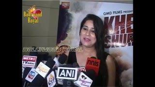 Abhinav Kashyap, Ruslaan Mumtaaz, Devshi Khanduri at Trailer Launch of 'Khel Toh Ab Shuru Hoga' Part