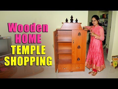 Handicrafts Wooden Home Temple Shopping | Pooja Mandir | Handcrafted Wooden Temple for Pooja Room