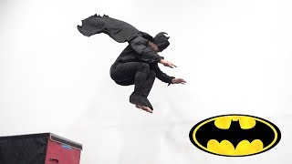 Batman Parkour In Real Life (Flips and Tricking)