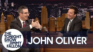 John Oliver Got into a Hugging Match with Oprah and Lost