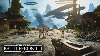 Star Wars Battlefront 2 - New Ultra Realistic No HUD Multiplayer Gameplay in First Person!