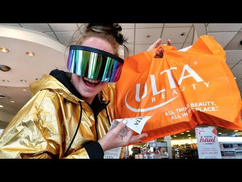 Baked Potato Goes Clearance Makeup Shopping at ULTA Follow Me Around