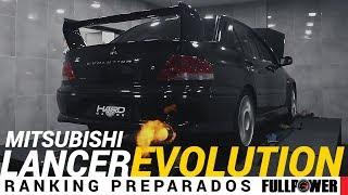 Mitsubishi Lancer Evolution VII no Ranking Preparados FULLPOWER