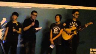 2014-10-04 何韻詩, 黃耀明, 阿PAN - 海闊天空 @ 佔中金鐘集會