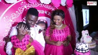 Mose Iyobo na Aunty Ezekiel walivyoangusha birthday party ya mtoto wao