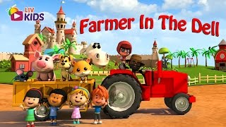 Farmer in the Dell | LIV Kids Nursery Rhymes and Songs | HD