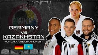 GERMANY vs KAZAKHSTAN World Karate Championship Bremen 2014