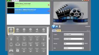 Green Free Video Converter video demo