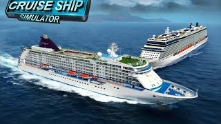 Big Cruise Ship Games Passenger Cargo Simulator (Trailer) #Ship Driving Games #Game Download