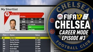 PETR CECH RETURNING TO CHELSEA!? FIFA 17 Chelsea Career Mode #3