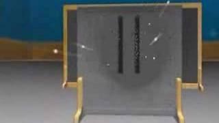 Dr Quatum demostra o exp. fenda dupla (dual. onda/partícula)