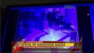Satpol PP Dikeroyok Massa Terekam CCTV