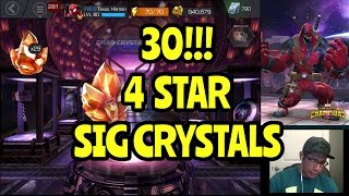SUPER HYPE 30 Signature Stone Crystals Marvel Contest of Champions