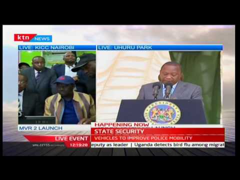 watch President Uhuru urges police to deal firmly with people inciting violence during election period