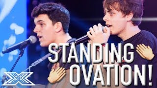 Urban Strangers Get Standing Ovation From Judges Covering
