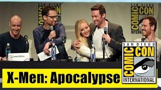 X-men: Apocalypse   Comic Con 2015 Full Panel (Hugh Jackman, Jennifer Lawrence, Michael Fassbender)