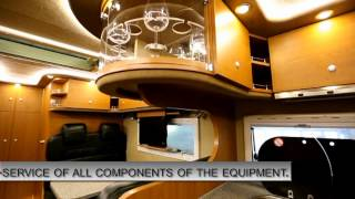The mobile home on base MB Zetros 2733A