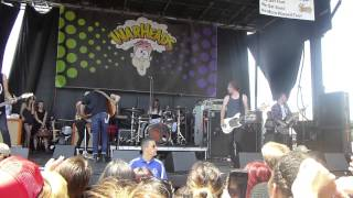 The Maine - Into Your Arms - Vans Warped Tour 2014 @ Ventura, CA 06 22 14