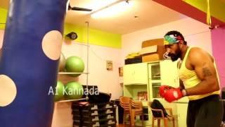 Villain Anil Workout | Dunia viji couching for Anil | Body build of Anil | A1 Kannada