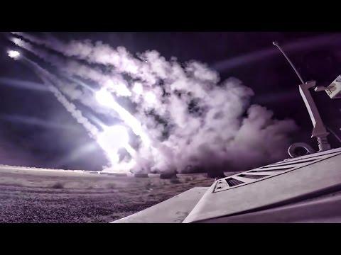 HIMARS Strike At Night In Iraq • 2016 Mosul Advance