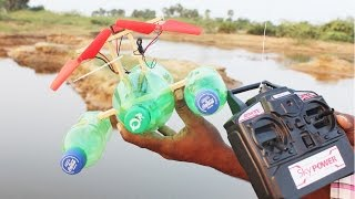 How to Make Boat with Plastic Bottle and Air Duster