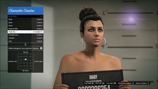 GTA5 Online : How To Make A Hot Girl Character | Updated Female Character Creation
