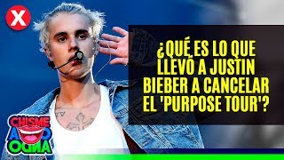 Qu Es Lo Que Llev A Justin Bieber A Cancelar El Purpose Tour