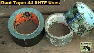 Duct Tape: 44 SHTF Uses