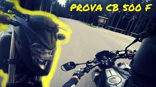 PROVA HONDA CB 500 F 2016 - A modo mio!