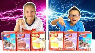 Twin Telepathy Cake Challenge!!!