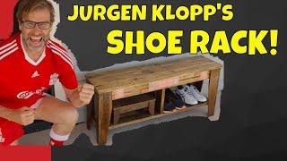 Build a Shoe Rack from Pallet Wood. Jurgen Klopp Does DIY!