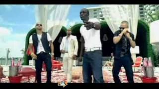Aventura Featuring Wisin & Yandel, Akon All Up 2 You.
