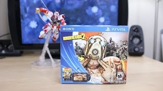 NEW PS Vita Slim Borderlands 2 Bundle Unboxing