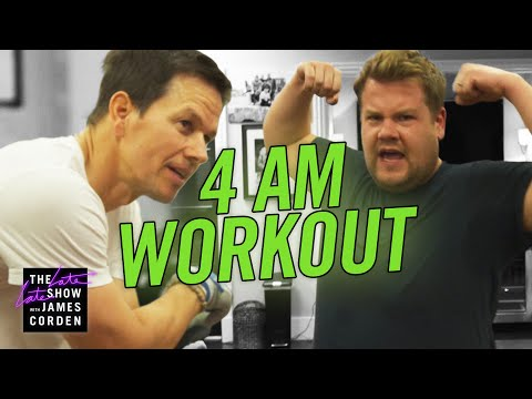 Xxx Mp4 James Joins Mark Wahlberg S 4am Workout Club 3gp Sex