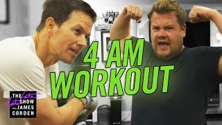 James Joins Mark Wahlberg