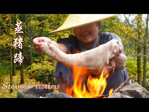 【Shyo video】豬蹄這樣吃才霸氣,一人吃1整隻,大口吃著真過癮