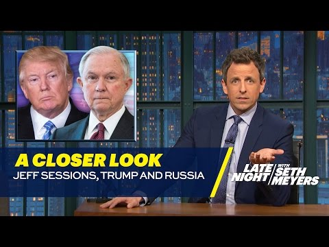 Jeff Sessions Trump and Russia A Closer Look