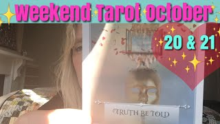 Weekend Tarot Reading October 20 & 21, 2018  ~ Truth On A Time Release
