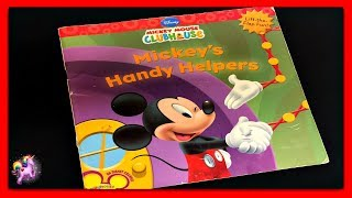 "DISNEY MICKEY MOUSE ""MICKEY'S HANDY HELPERS"" - Read Aloud - Storybook for kids, children & adults"