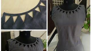 Latest Stylish and Beautiful Neck Design cutting and Stitching    Reet Designs