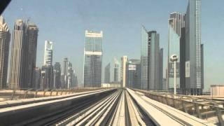 Dubai Metro Cab Ride On The Red Line